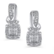 Hold My Hand 1/10 Carat T.W. Diamond Sterling Silver Fashion Earrings