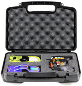 Hard Storage Carrying Case For Hot Wheels AI Intelligent Race Kit - Stores Two Smart Cars And Game Controllers, Safely In Protective Foam