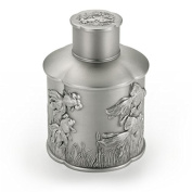 Royal Selangor Hand Finished Cha Collection Pewter Goldfish Airtight Tea / Coffee Caddy