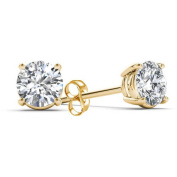 Imperial 1/2 Carat T.W. Diamond 14kt Yellow Gold Classic Stud Earrings