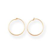 14k Madi K Sm. Endless Hoop Earrings