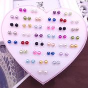 Pearl Earrings,Coxeer Crystal Earrings Cheap Earrings Fine Earings with Gift Box for Women Girls