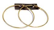 Gold Tone Hoop Earrings Classic 5.7cm Hoop Earrings