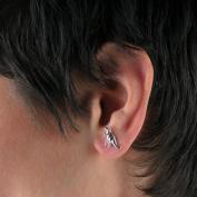 Evelots Dinosaur Jewellery,Cute 3 Pairs of Studs Punk Cartilage Dinosaur Earrings