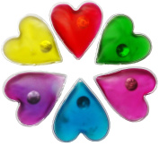 Hand warmers 6 heart shaped pocket warmers for warm fingers in winter, reusable