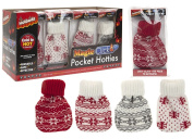Pocket Hotties Heat Pack With Nordic Knitter Cover Gloves Pockets Click The Pack To Activate