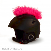 Helmet Mohawk For Ski Helmet, Snowboard Helmet - Ski Helmet Child Helmet Helmet Motorcycle & Bicycle Helmet Stickers - For Children and Adults - The eye-catcher - The Auffälligere Helmet Decoration