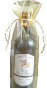 Yeah67886 Beautiful Sheet Organza Wine Bottle Gift Bags for Present Gift Weddings Party