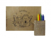 Drawing Books for Children Customised for your wedding, personalised wedding Kids Draw