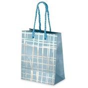 CLUB GREEN Gift Bag, Blue, 11 x 15 x 6 cm