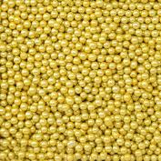 CLUB GREEN Sugared Balls, Metallic Gold, 4 mm