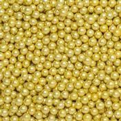 CLUB GREEN Sugared Balls, Metallic Gold, 6 mm