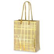 CLUB GREEN Gift Bag, Gold, 11 x 15 x 6 cm