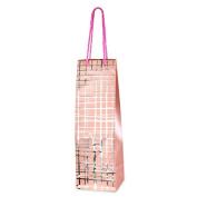 CLUB GREEN Wine Bottle Bag, Pink, 34 x 11 x 10 cm