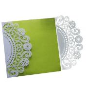 Hunpta 10Pcs Wedding Invitation Card Kit with Envelopes Seals Personalised Printing