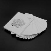 50pcs Laser Cut Wedding Invitation Name Place Card Wedding Birthday Party Beige