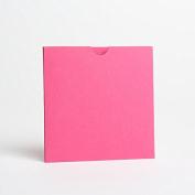 Hot Pink Matte Wallet Invites 125mmx125mm From Pocketfold Invites LTD