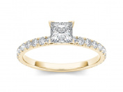 Imperial 1 Carat T.W. Diamond Classic 14kt Yellow Gold Engagement Ring