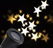 BLINKING-STAR Star Projection Lamp Christmas Light Warm White Star Projection Lamp Outdoor LED Lawn Lamp Garden Light