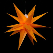 Falke Steiner Advent Star Plastic Pill Box, 80 cm, 18 TIPS WITH LED LIGHTS AND ADAPTER suitable for indoor and outdoor use Choose Your Colour using Drop Down Menu. yellow