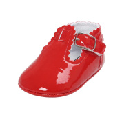 Quistal Baby Girl Casual Toddler Infant Princess Shoes Rubber Sole Prewalker Crib Shoes