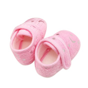 Quistal Starry Sky Printed Toddler Anti-Slip Soft Sole Baby Comfy Shoes for Girls Boys, 0-18 Month