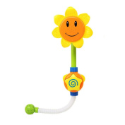 Baby Bath Toys, HUHU833 Sunflower Water Shower Spray Bathing Tub Fountain Toys For Kids