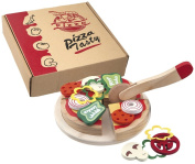 Happy People 45067 Pizza Wooden Toy