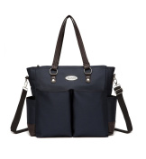 COLORLAND Afra Tote Baby Changing Bag, Navy