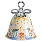 Alessi MW40 2 Mary Christmas decoration in decorated porcelain