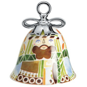 Alessi MW40 3 Joseph Christmas decoration in decorated porcelain