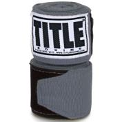 Title Boxing 460cm Semi Elastic Mexican Handwraps - Grey