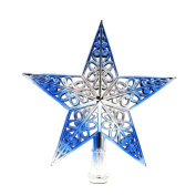 IGEMY Christmas Tree Top Sparkle Stars Hang Xmas Decoration Ornament Treetop Topper