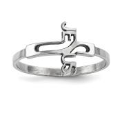 Sterling Silver Jesus Cross Ring