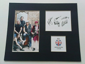 LIMITED EDITION ACDC FULLY SIGNED DISPLAY PRINTED AUTOGRAPH AUTOGRAPH AUTOGRAF AUTOGRAM SIGNIERT SIGNATURE MOUNT FRAME