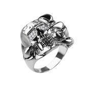 Sterling Silver Talon Skull Ring