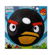 Angry Birds Black Bird Rubber Playground Ball