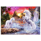Broadroot Two Horse 5D Diamond DIY Painting Home Decor