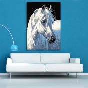 Broadroot White Horse 5D Diamond DIY Painting Craft Home Decor