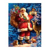 Broadroot Santa Claus and Deer5D Diamond DIY Painting Craft Kit Home Wall Decor