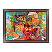 ChengYa Owl 5D Diamond Embroidery DIY Painting Cross Stitch for Home Decoration