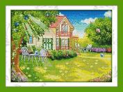 Chreey Suburban Life Series - Comfort Cross Stitch Fashion Crafts Home Art Decoration [49x37cm]