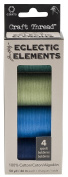 Tim Holtz Eclectic Elements by Coats Craft Thread Blues/Greens