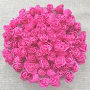 Pink 30mm Foam Rose Flowers Decorative Craft Flowers