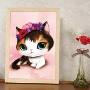 Moresave Cute Cat Pet Diamond Painting Diamond Cross Stitch Wall Decoration Painting