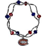 NHL Montreal Canadiens Stretch Bead Bracelet