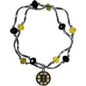 NHL Boston Bruins Stretch Bead Bracelet
