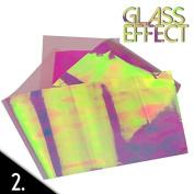Mirror effect nail art foil 50cm N02