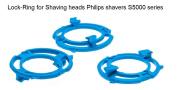 Lock-ring (retaining-plate, holder) for Philips Shaving heads model/type SH50