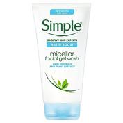 Simple Water Boost Micellar Facial Gel Wash 148Ml